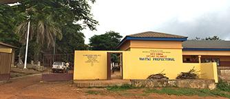 Ouverture de l'unité ophtalmologique de Télimélé (Guinée)