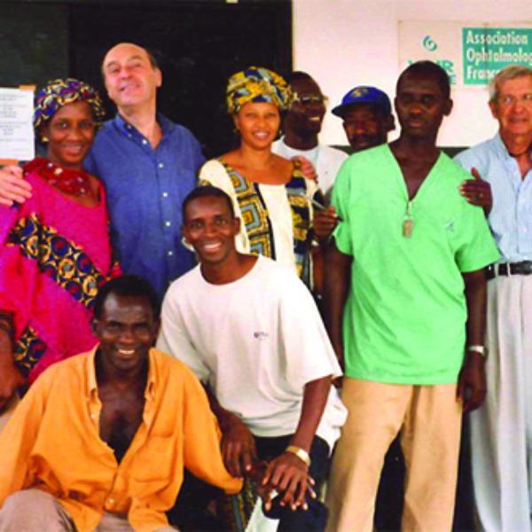 Conakry, l'équipe de l'unité avant sa fermeture