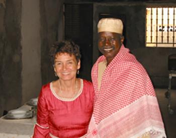 Nadine BARI et le Dr Fodé KEITA, 1ers représentants de Voir La Vie en Guinée