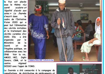 Célébration de la journée mondiale de la vue – OMS Guinée