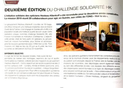 Deuxième édition du challenge solidarité des opticiens Hesteau-Klienkoff