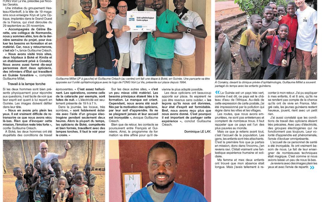 En Guinée, les opticiens en prennent plein les yeux – 2020