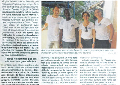 Ils aident les Guinéens à prendre soin de leur vue