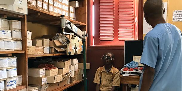 Ouverture du centre optique de Kindia (Guinée)