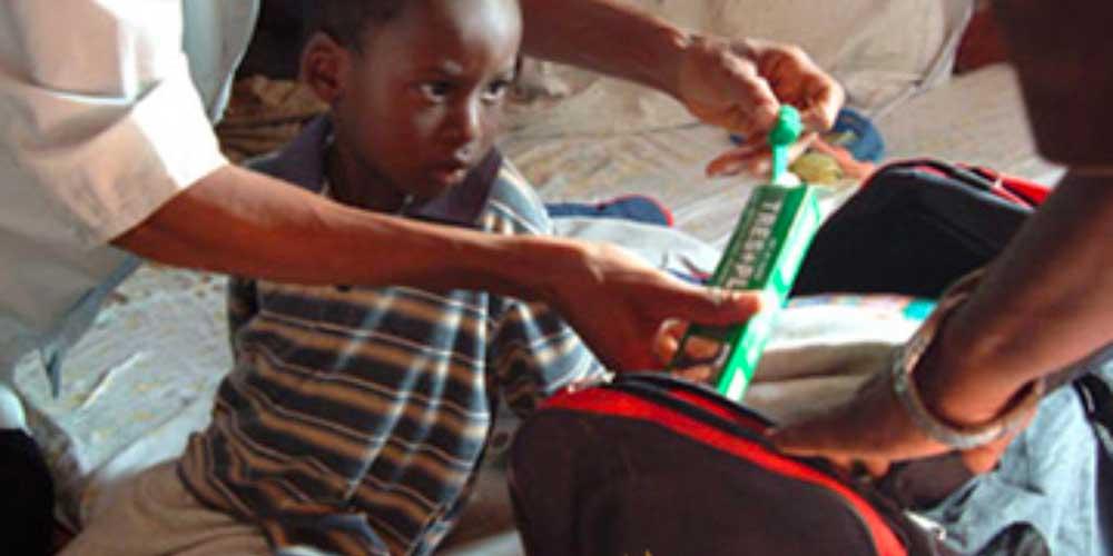 Benin : cent enfants sans cataracte